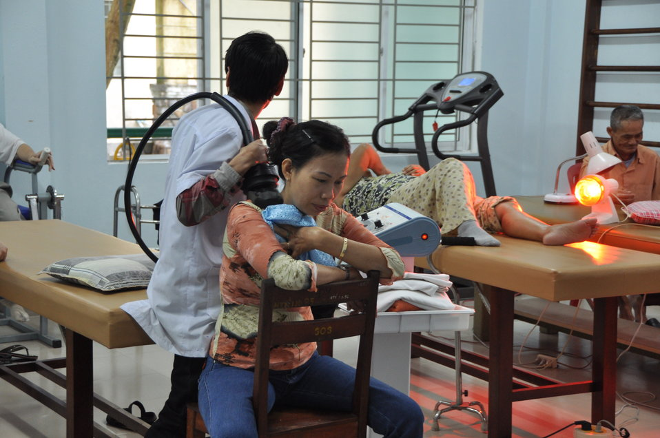 USAID support to Thanh Khe District Hospital