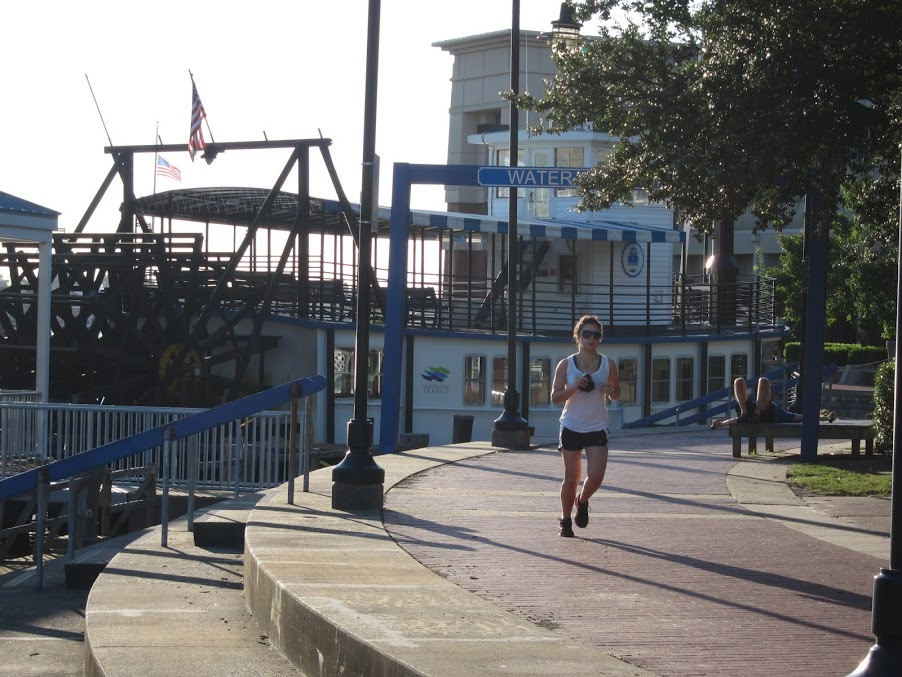 Runner in Portsmouth Virginia
