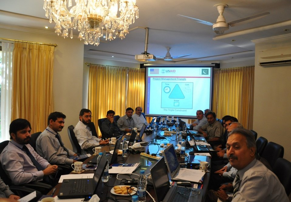 USAID's Power Distribution Program organized a 2-Day Workshop on Microsoft Project for DISCOs staff