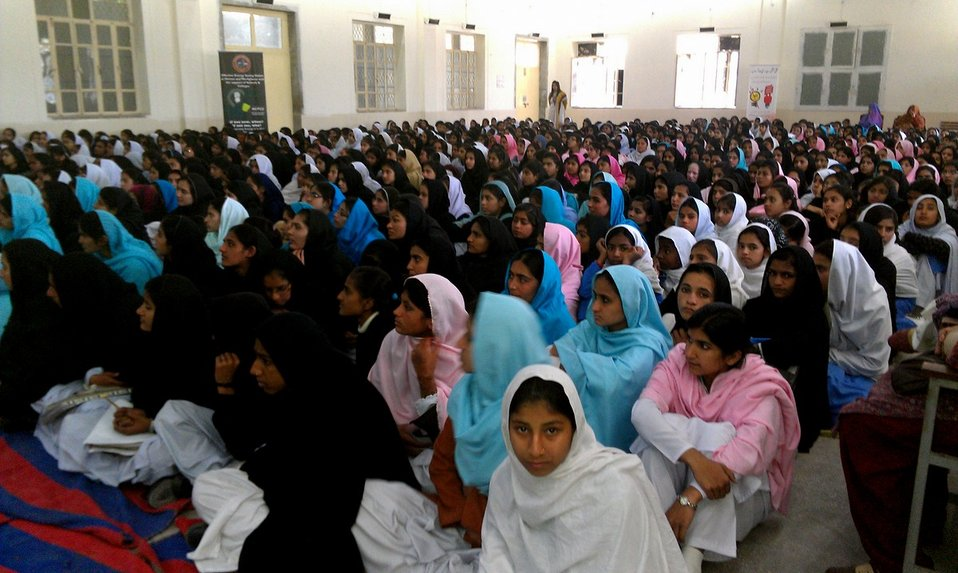 USAID Power Distribution Program-Energy Conservation Seminar at Govt. Comprehensive Girls Higher Secondary School, Multan.