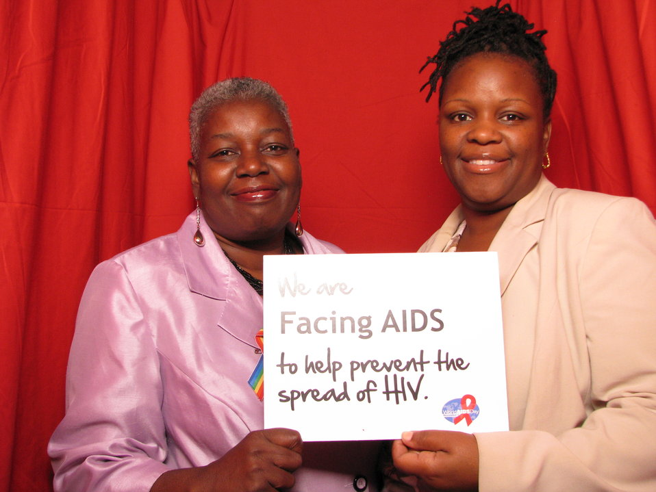 We're FACING AIDS to help prevent the spread of HIV.
