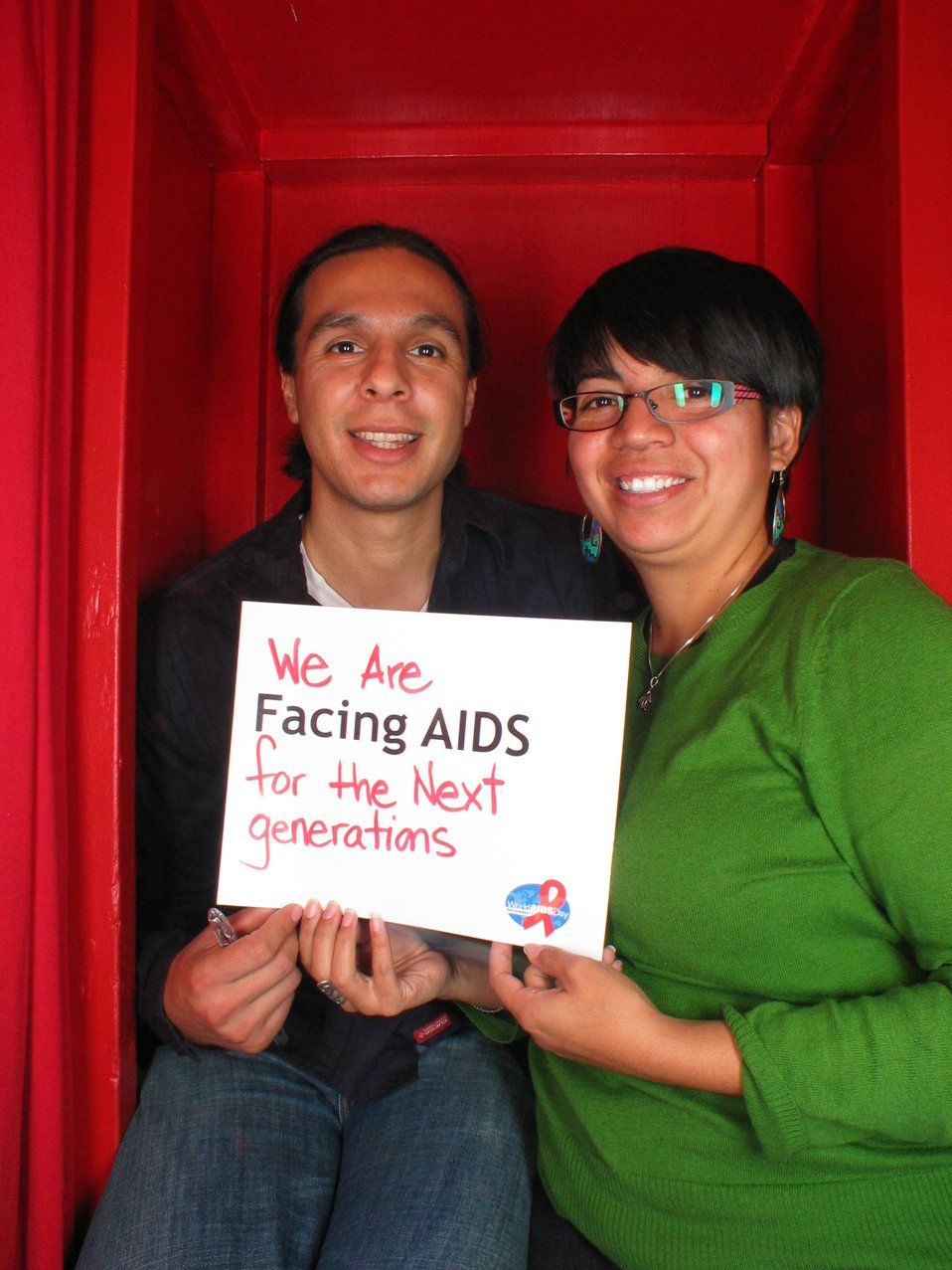 We are Facing AIDS for the next generations.
