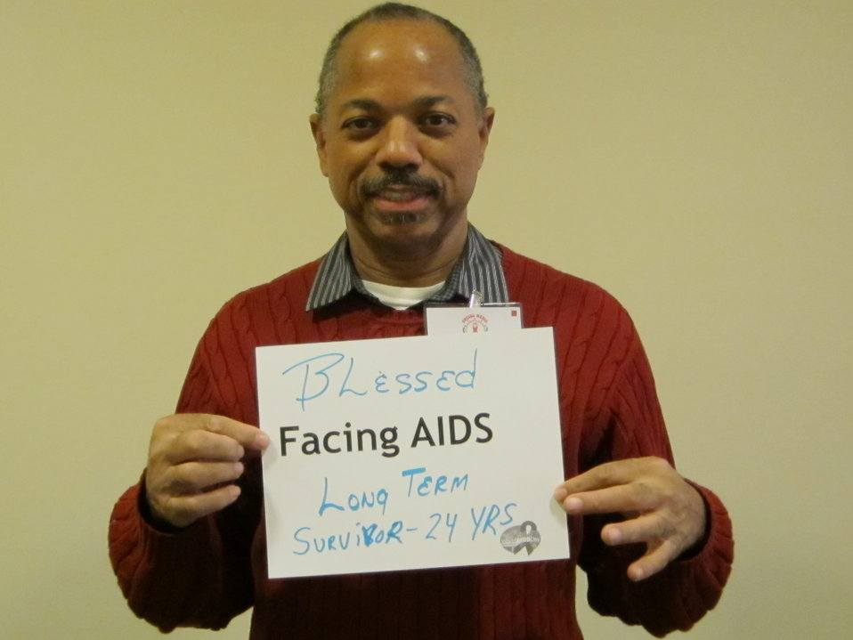 Blessed Facing AIDS long term survivor - 24 years.