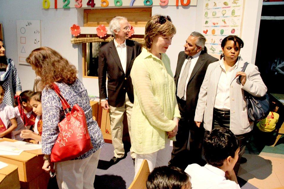 U.S. Ambassador's Visit to Sim Sim Hamara Highlights U.S. Commitment to Improved Children's Education in Pakistan at Lahore on 28 April, 2012