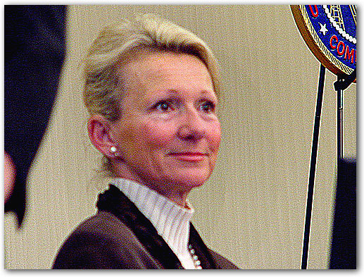 FCC Commissioner Deborah Tate.