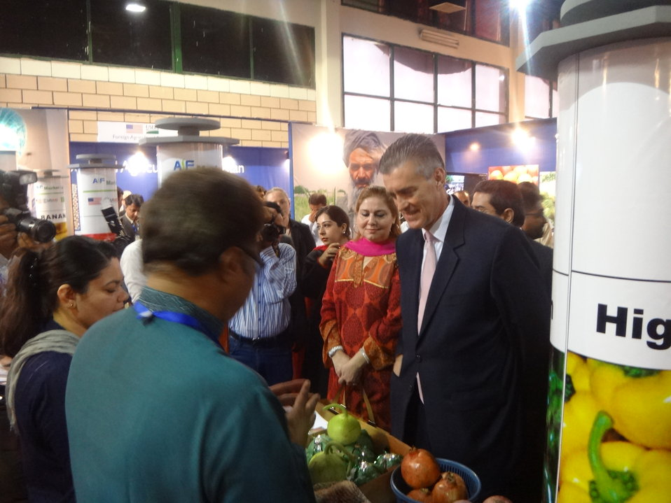 US Ambassador's visit to The Agribusiness Project at TDAP Expo, Karachi, September 27, 2013 (9)