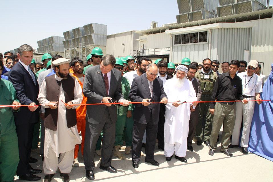 فابریکه برق طره خیل به حکومت افغانستان تسلیم داده شد