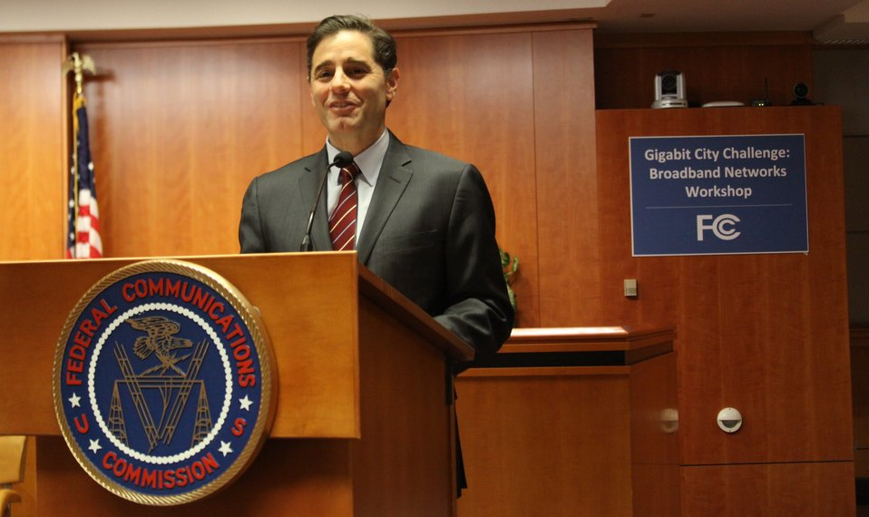 March 27, 2013 Gigabit City Challenge:  Broadband Networks Workshop Opening Remarks given by Chairman Julius Genachowski