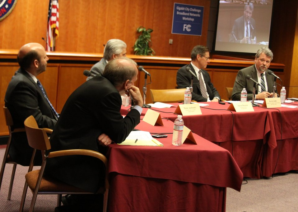 March 27, 2013 Gigabit City Challenge:  Broadband Networks Workshop Panel 3:  Innovation in Demand Aggregation