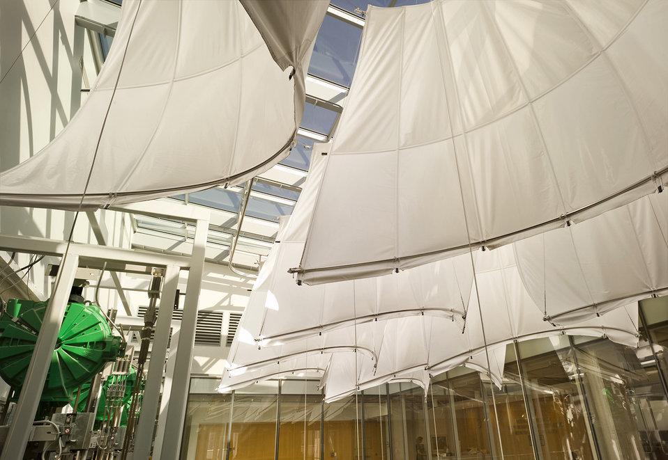 Sails in the Atrium
