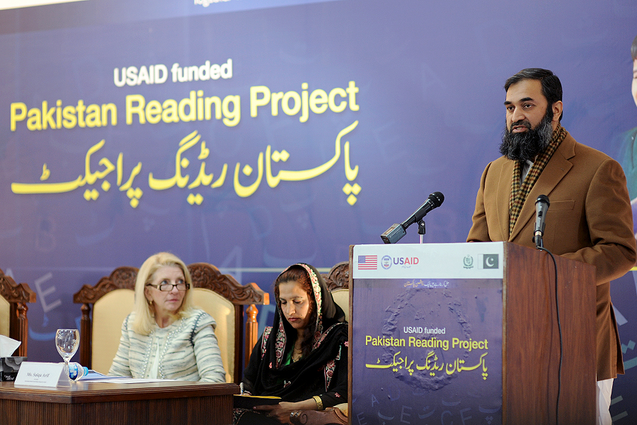 United States and Pakistan Launch the Pakistan Reading Project