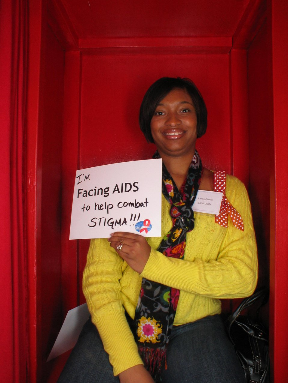 I'm Facing AIDS to help combat stigma!!!