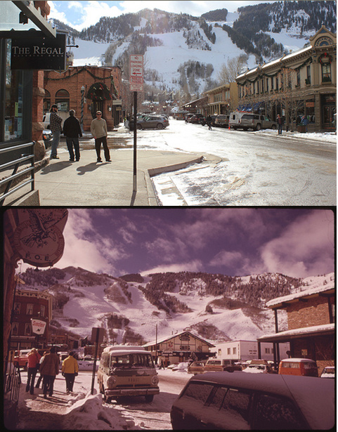 Aspen, CO 1974 and 2012