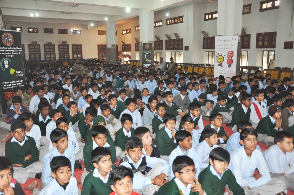 USAID enlightens Young Minds with Energy Conservation Tips