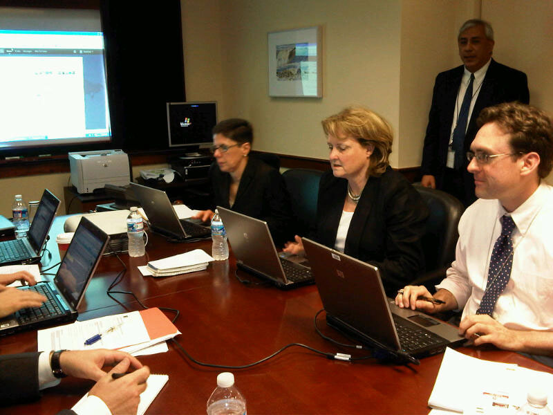 Under Secretary McHale Participates in the State Department's First Global 'Twitter QandA'