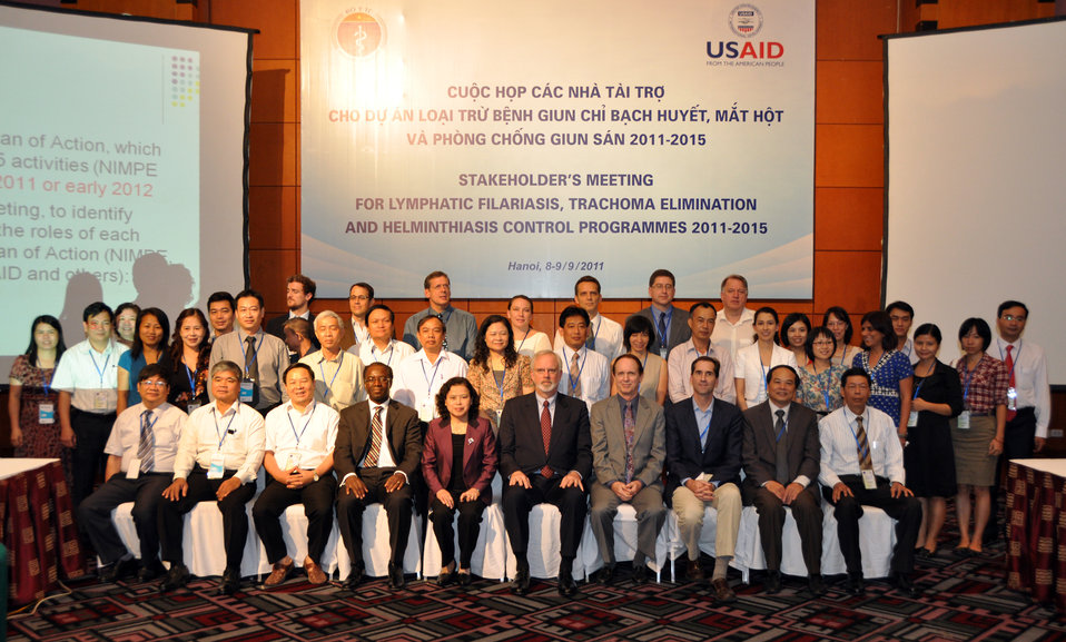 USAID supports Vietnam's efforts to control and eliminiate neglected tropical diseases: Workshop Sept. 8, 2011