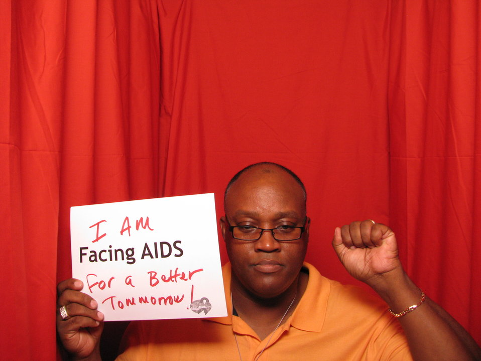 I AM FACING AIDS for a better tomorrow!