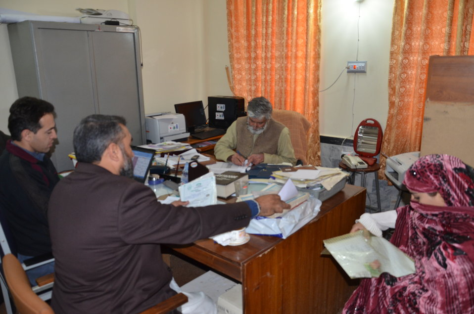 Interviews of female candidates for 18-month CMW training (Buner) (1)