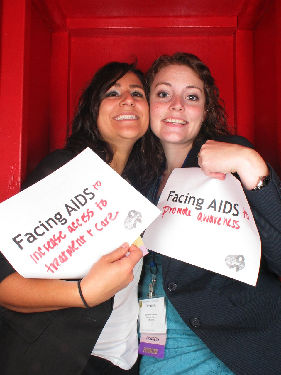 Facing AIDS to increase access to treatment and care. Facing AIDS to promote awareness