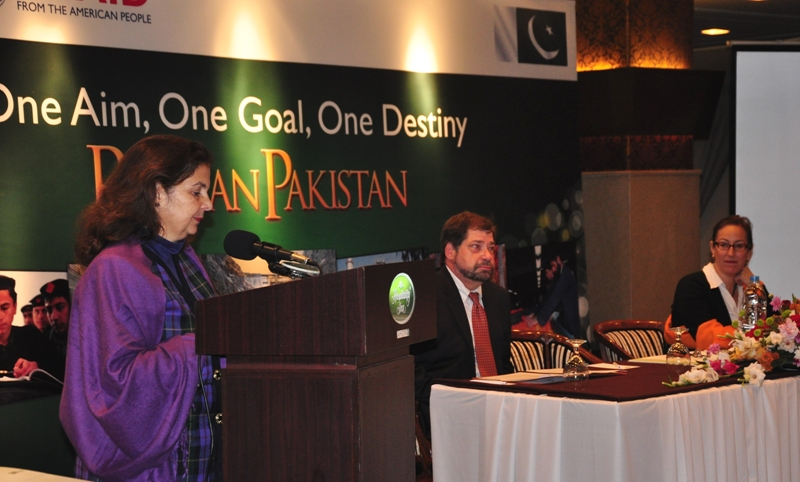U.S. Consul General Nina Fite inaugurated the consultative workshop.