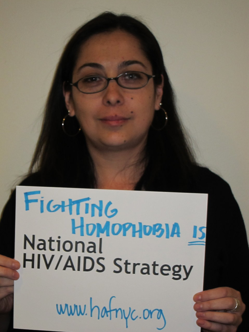 Fighting Homophobia is National HIV/AIDS Strategy www.hafnyc.org