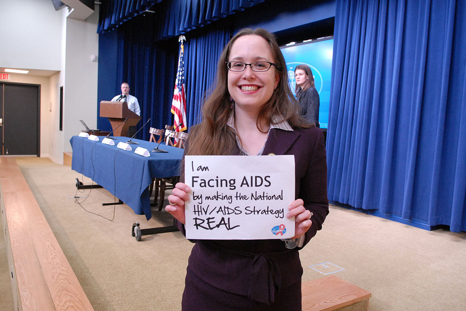 I am Facing AIDS by making the National HIV/AIDS Strategy REAL