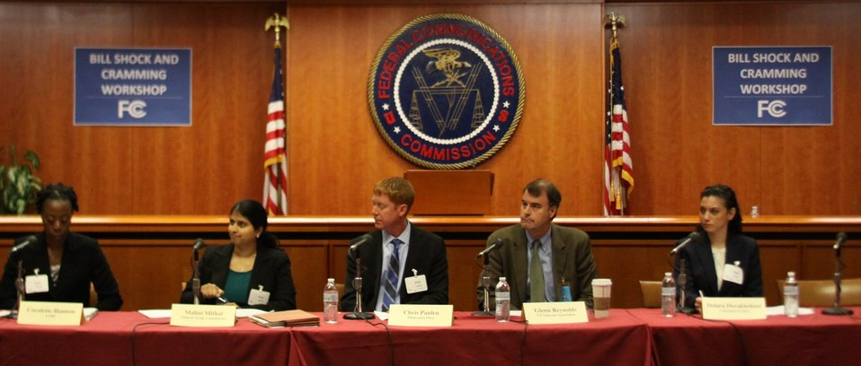 April 17, 2013 Bill Shock and Cramming Workshop  Panel: How Cramming Occurs and What Consumers Can Do To Protect Themselves, Industry Efforts