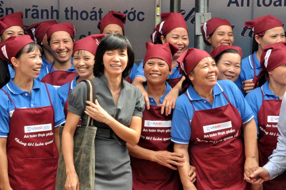 Handover Ceremony Hoa Mac Market Ha Nam