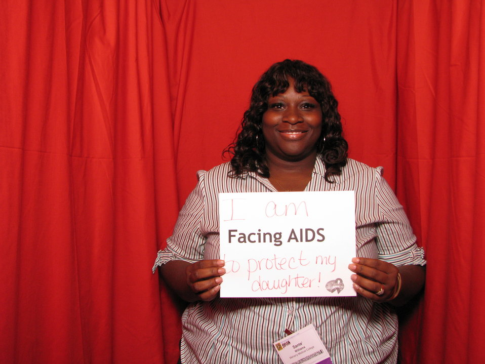 I am FACING AIDS to protect my daughter!