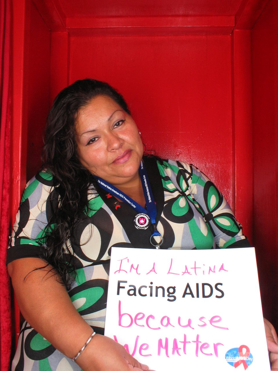 I'm a Latino Facing AIDS because we matter.