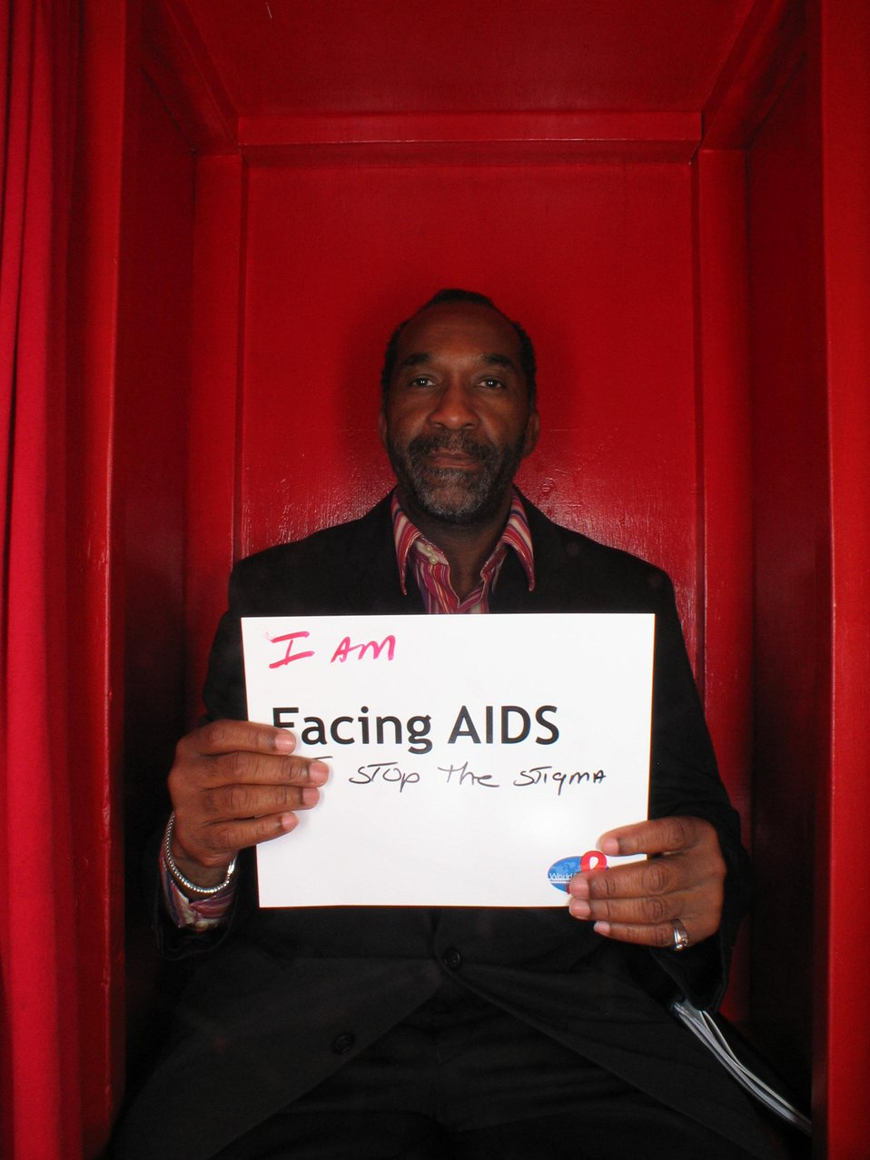 I am Facing AIDS to stop the stigma