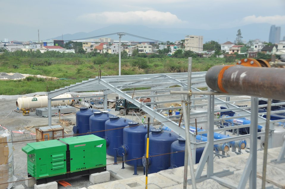 USAID Dioxin Contamination Project Progress: Water Treatment System