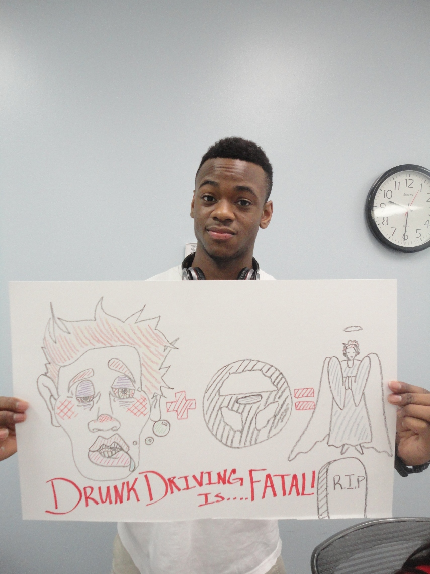DREAM's, MS Student Advisory Board of Youth Highway Safety NDFW 2013