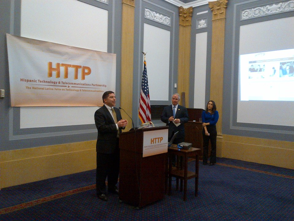3.5.2014 Hispanic Technology and Telecommunications Partnership (HTTP) relaunch reception