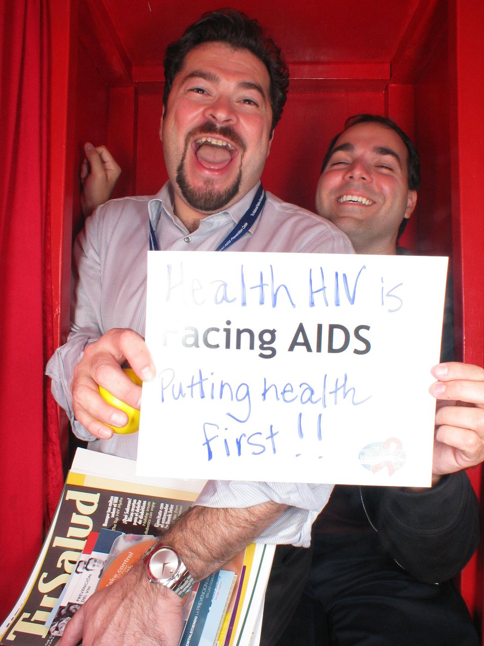 Facing AIDS is putting health first!