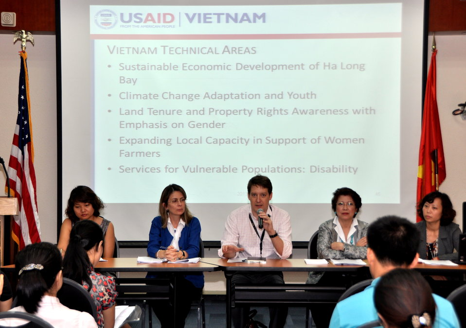 Development Grants Program Workshop in Hanoi