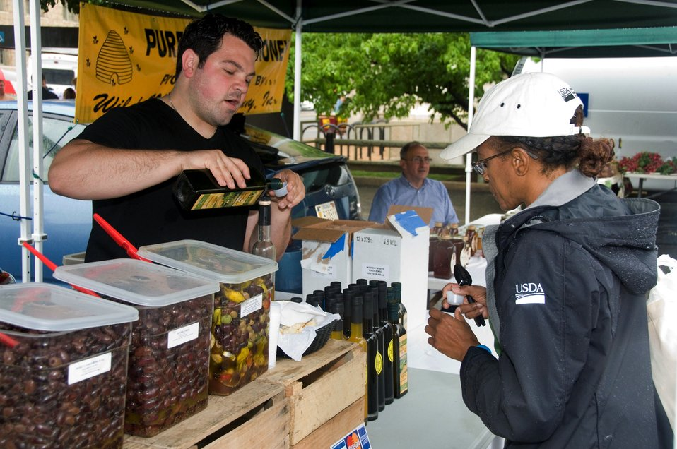 Sampling Olives and Products