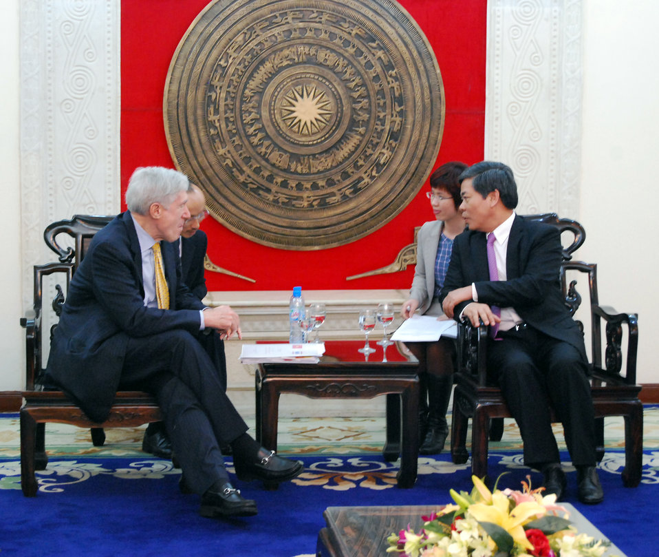 U.S.-Vietnam MOU on Low Emissions Development Strategies Signing Ceremony