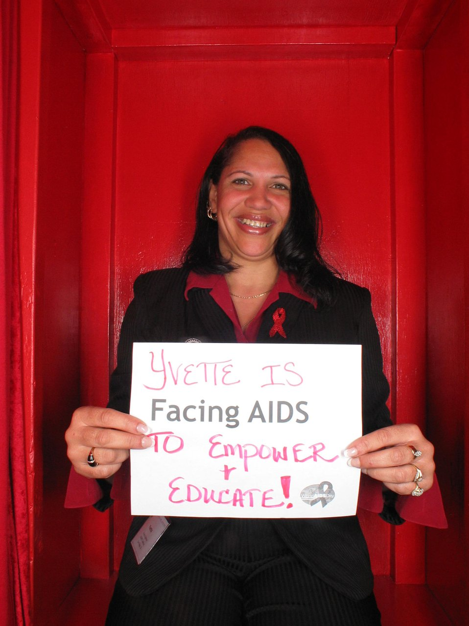 Facing AIDS to empower and educate!