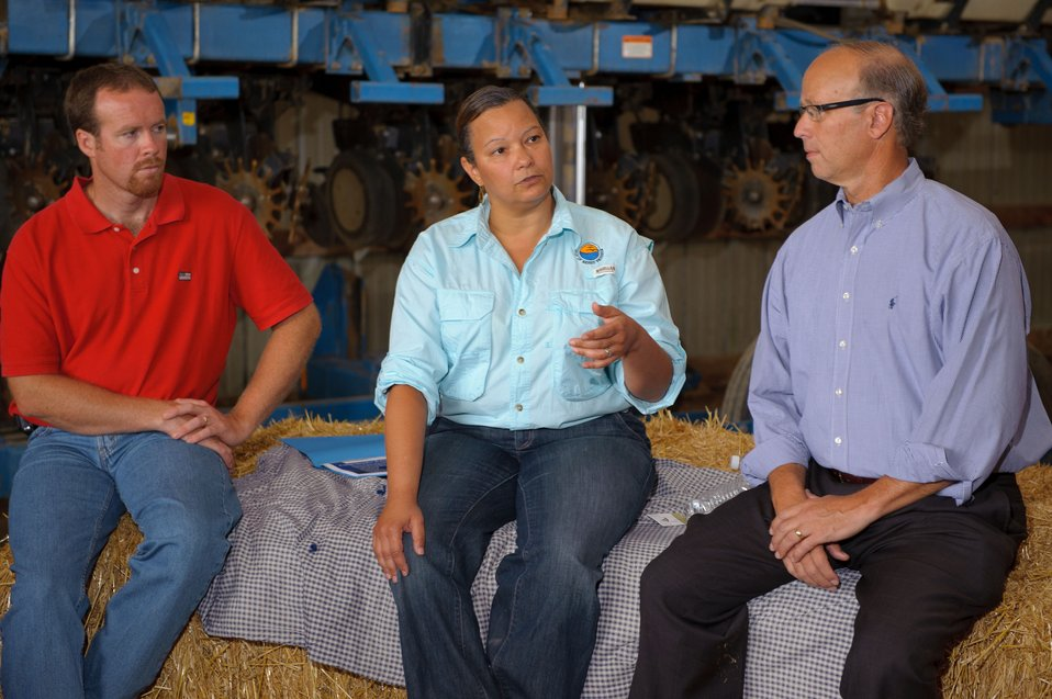 Administrator Jackson meets with local farmers and leaders in PA