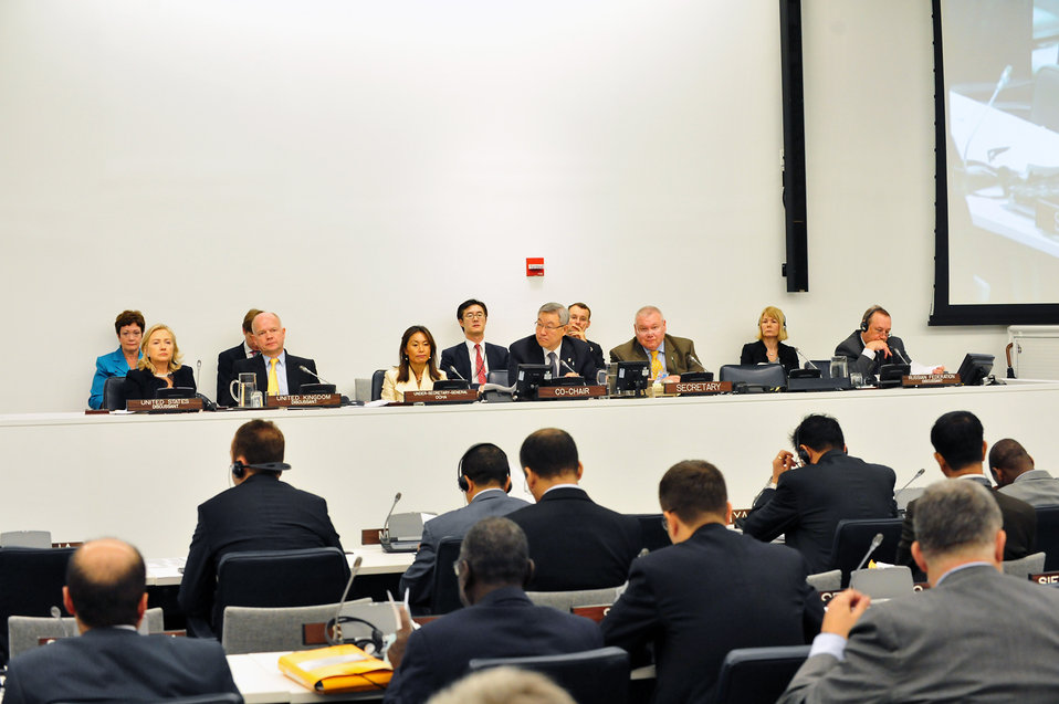 Secretary Clinton Participates in the UN High-Level Meeting on Nuclear Safety and Security