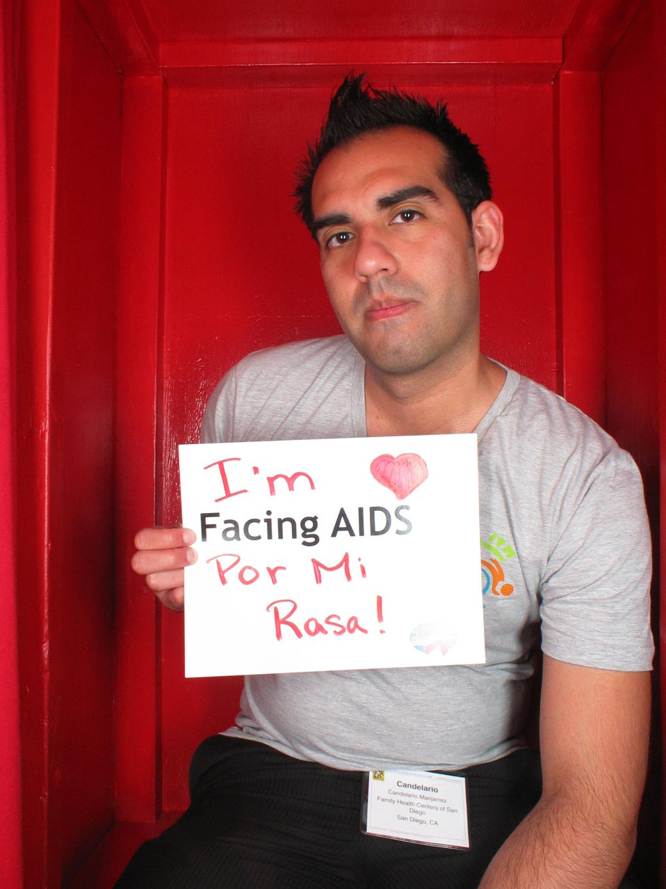I'm Facing AIDS por mi Rasa!