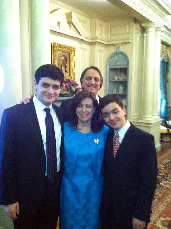 Under Secretary Sonenshine With Her Family