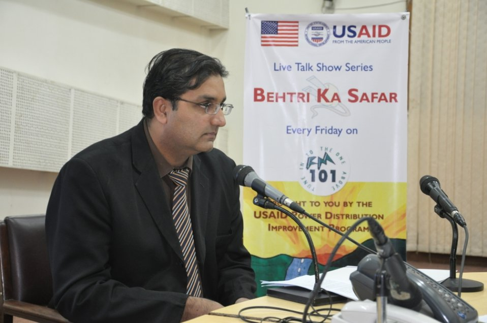 30 Nov 2011 - Radio Program on 'Utility Exchange Program' at Radio Pakistan