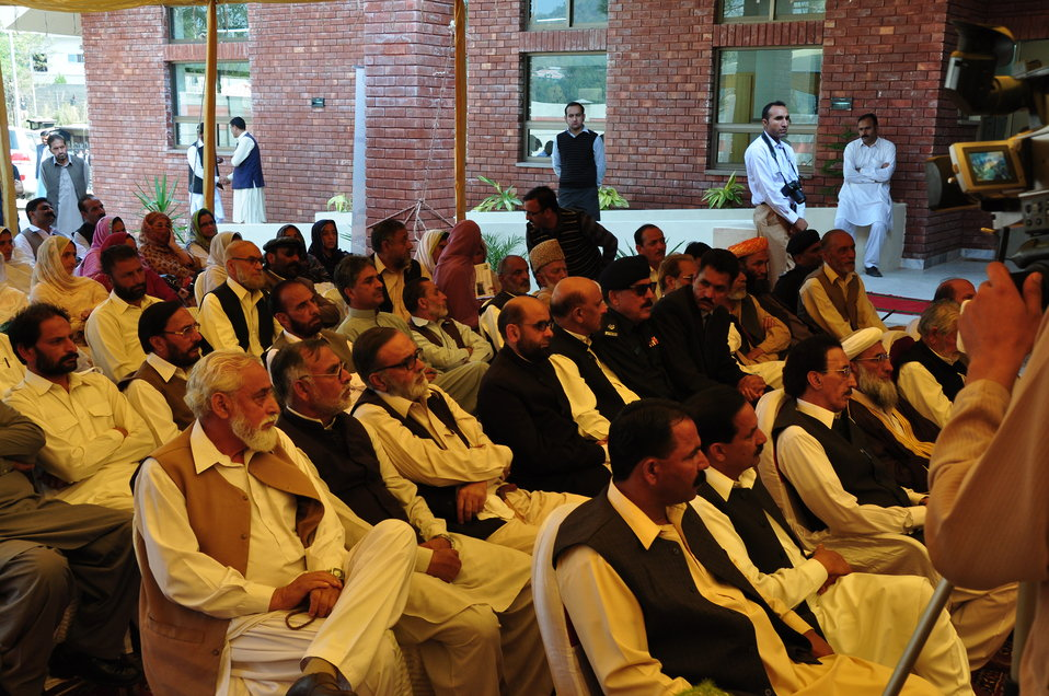Dhirkot Reconstructed Hospital Inauguration Pakistan Reconstruction Program 17