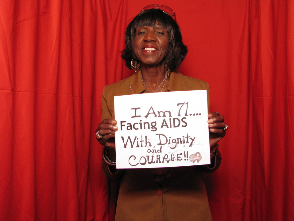 I am 71... FACING AIDS with Dignity and Courage!!