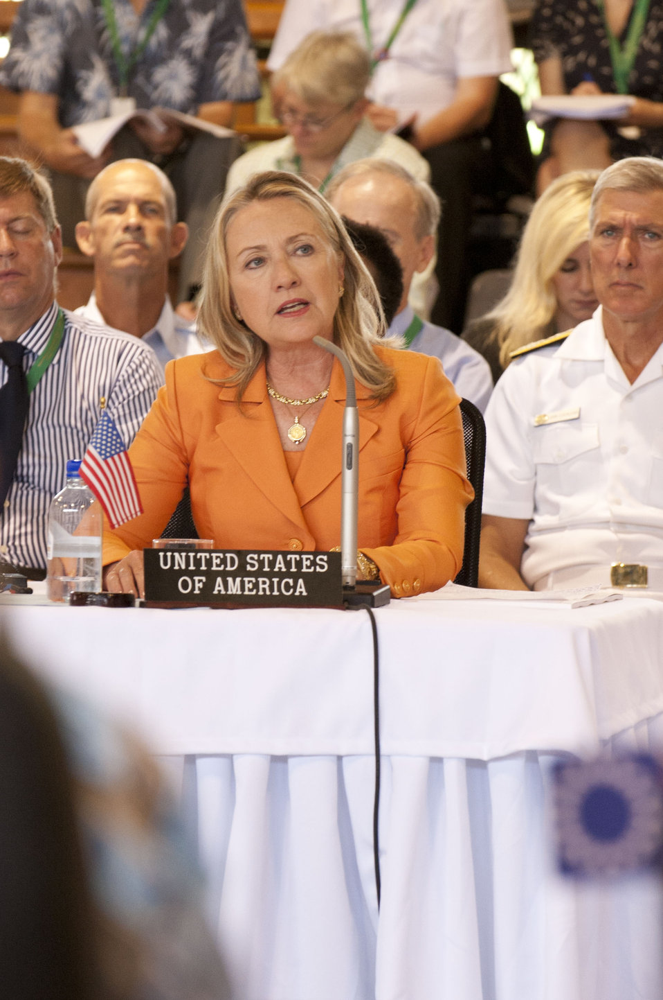 Secretary Clinton Delivers Remarks at the Pacific Islands Forum