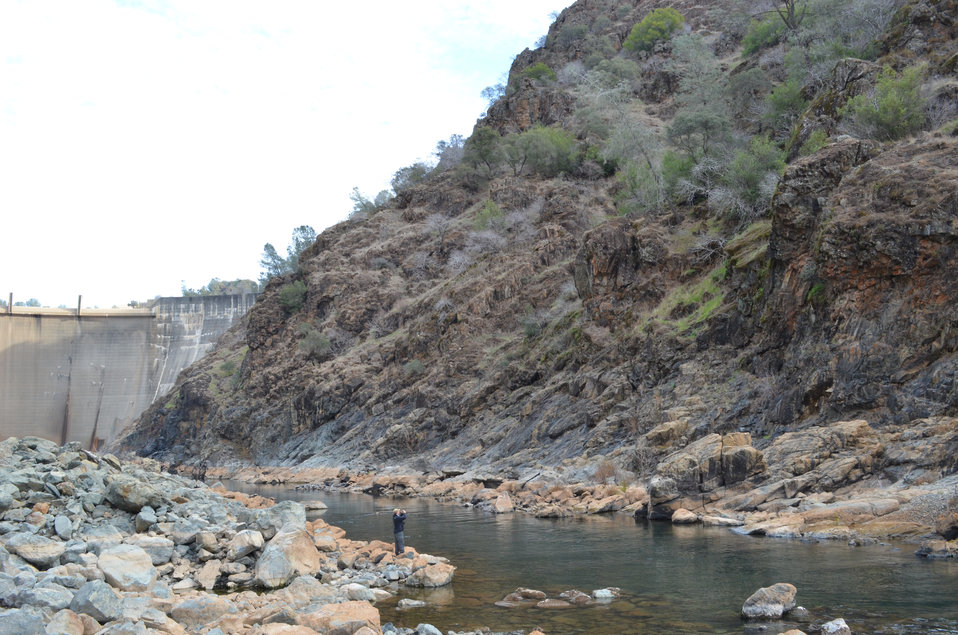 Building a 3-D model of Yuba River canyon
