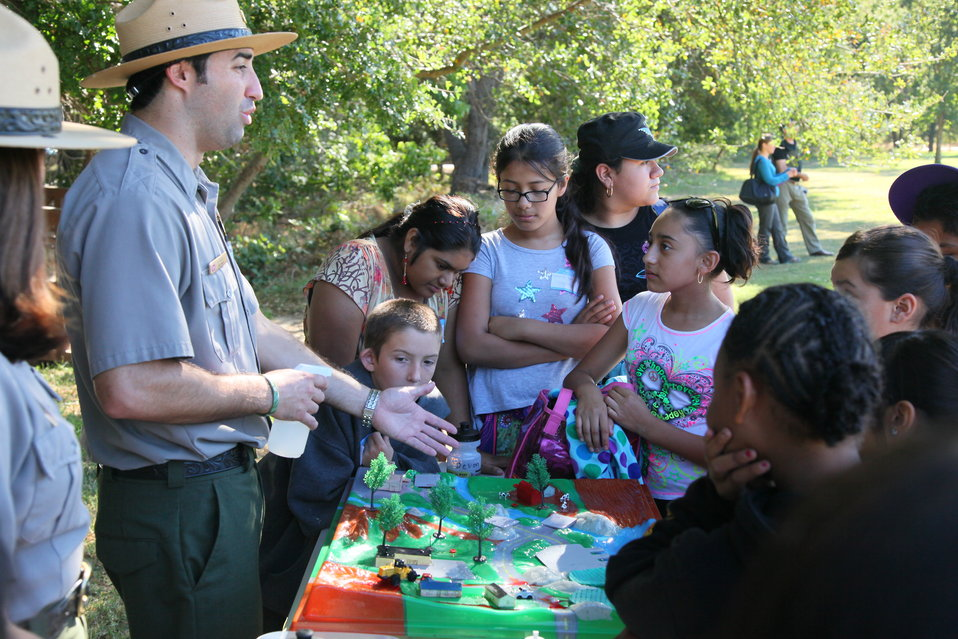 America's Great Outdoors event at the Effie Yeaw Nature Center