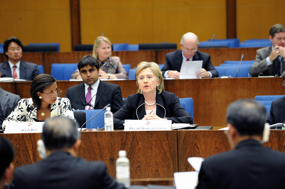Secretary Clinton Attends U.S.-China Strategic and Economic Dialogue